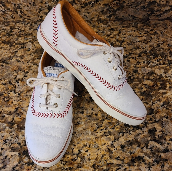Keds 1992 Championship Series leather baseball